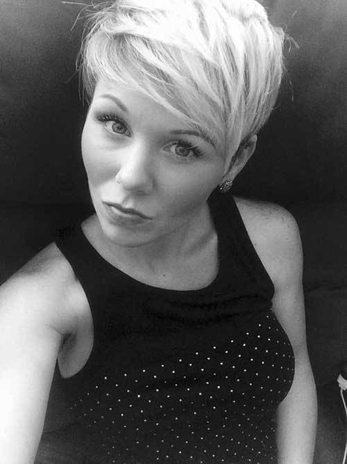 The Best 20 Short Funky Pixie Hairstyle Pixie Cut 2015 Pictures