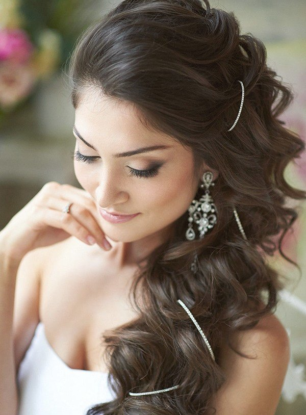 The Best 20 Most Elegant And Beautiful Wedding Hairstyles Pictures