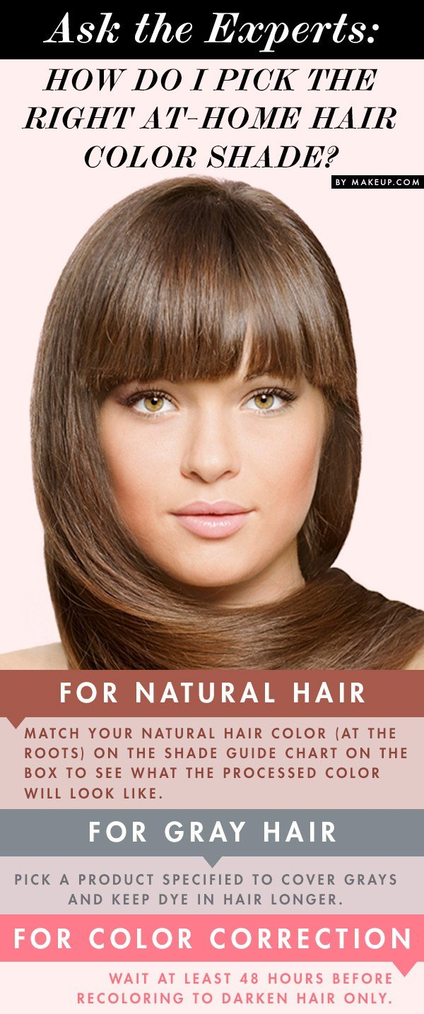 The Best How To Pick The Right At Home Hair Color Shade Makeup Com Pictures