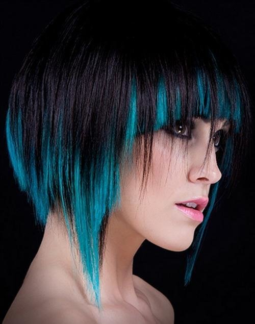 The Best 5 Funky Hair Color Ideas Pictures