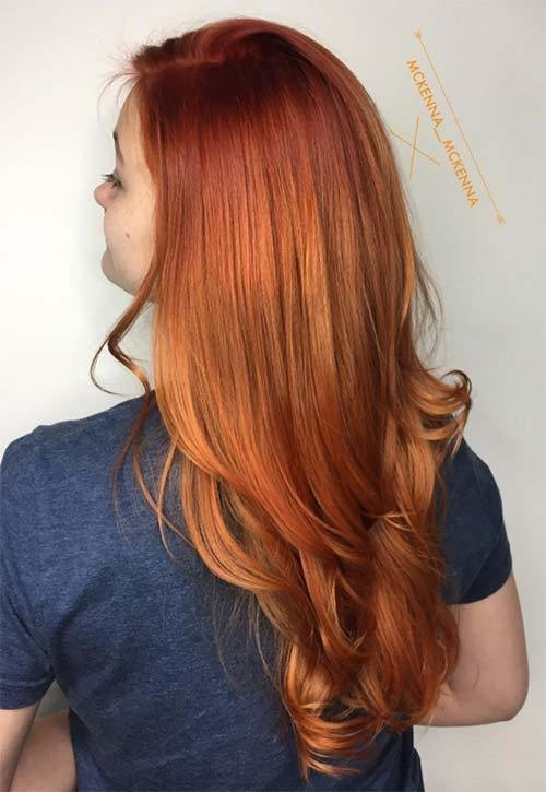 The Best 50 Copper Hair Color Shades To Swoon Over Fashionisers© Pictures