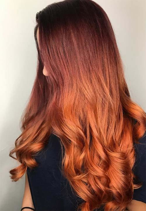 The Best 50 Copper Hair Color Shades To Swoon Over Fashionisers Pictures