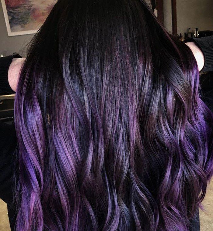 The Best Blackberry Hair Is The Unexpected Spring Hair Color Trend Pictures