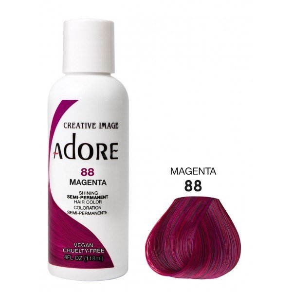 The Best Adore Semi Permanent Hair Colour Dye Magenta 88 Pictures