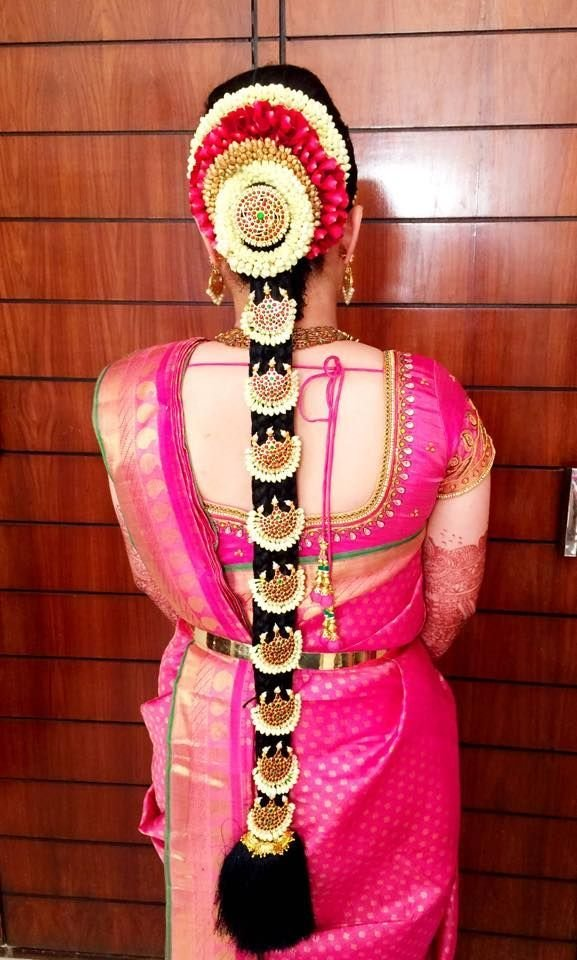 The Best Bridal Poo Jadai Hair Style Poo Jadai Hair Style Photo Pictures