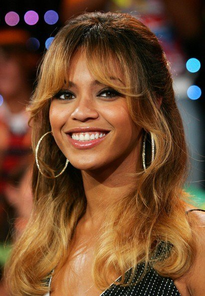 The Best More Pics Of Beyonce Knowles Long Wavy Cut With Bangs 32 Pictures