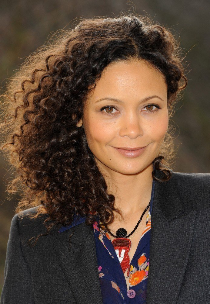 The Best Thandie Newton Medium Curls Shoulder Length Hairstyles Pictures