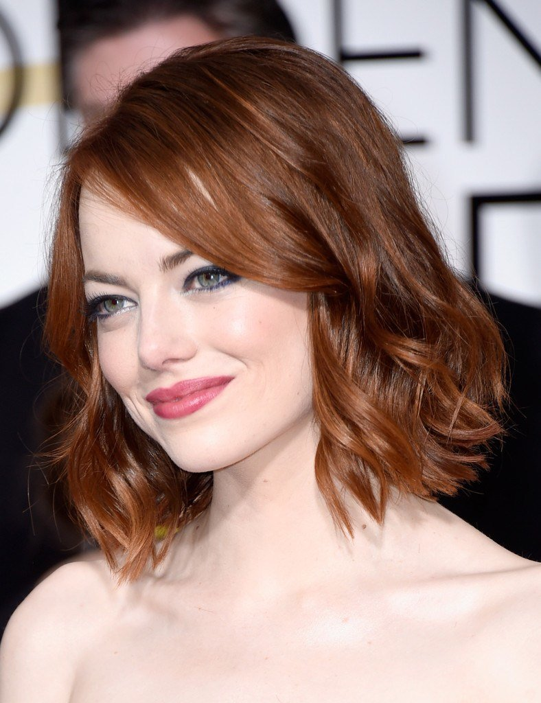 The Best Emma Stone Short Wavy Cut Short Hairstyles Lookbook Pictures