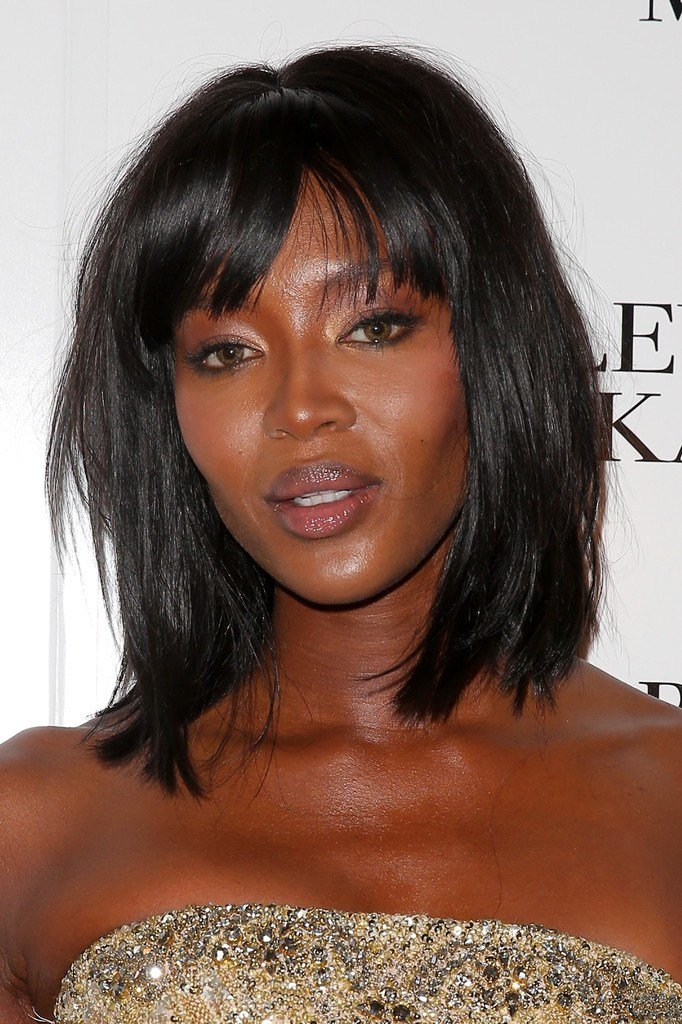 The Best Naomi Campbell Medium Layered Cut Naomi Campbell Hair Pictures