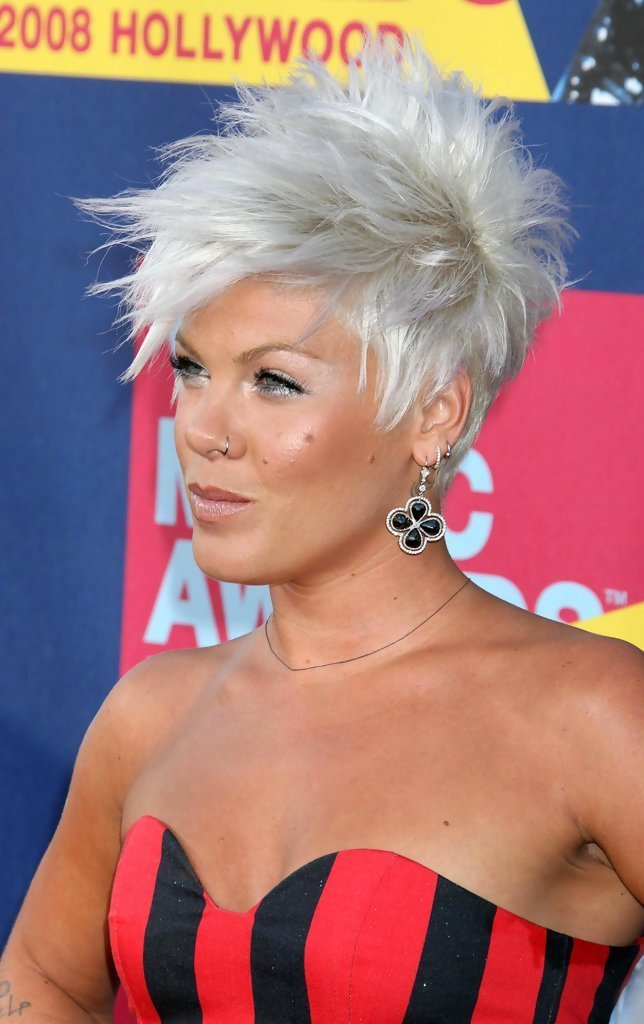 The Best Pink Spiked Hair Pink Short Hairstyles Looks Stylebistro Pictures