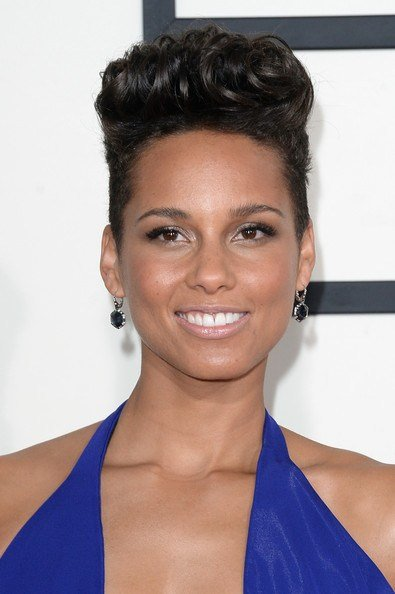 The Best Alicia Keys Flat Top Short Hairstyles Lookbook Stylebistro Pictures