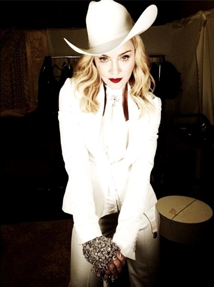 The Best Madonna Rocks A Cowboy Hat The Week S Most Stylish Celeb Pictures
