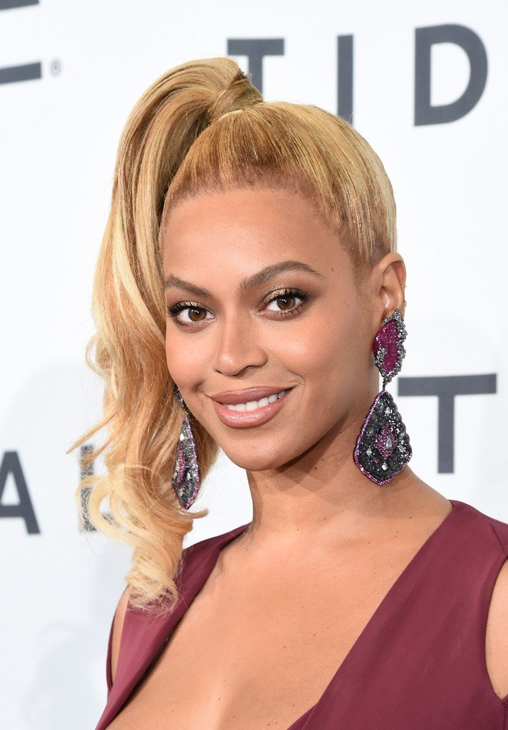 The Best Beyonce Knowles Ponytail Hair Lookbook Stylebistro Pictures