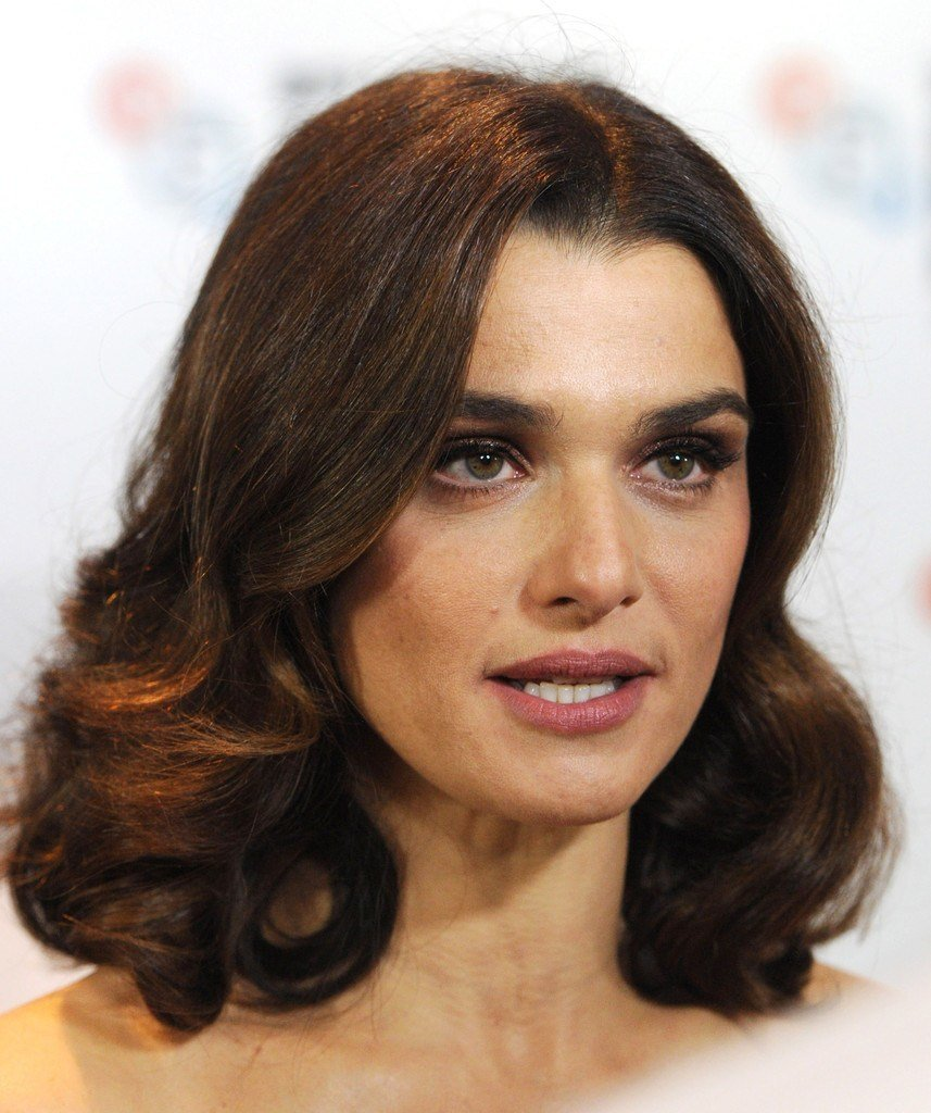 The Best Rachel Weisz Medium Curls Shoulder Length Hairstyles Pictures