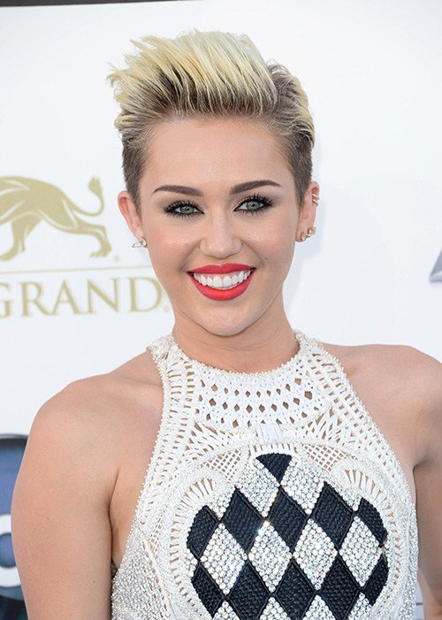 The Best Miley Cyrus Pixie Hair Cuts Hair World Magazine Pictures
