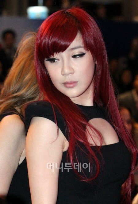 """The Best News Park Bom 2 For """"Dazzling Red Headed Star"""" Ygnatics Pictures"""
