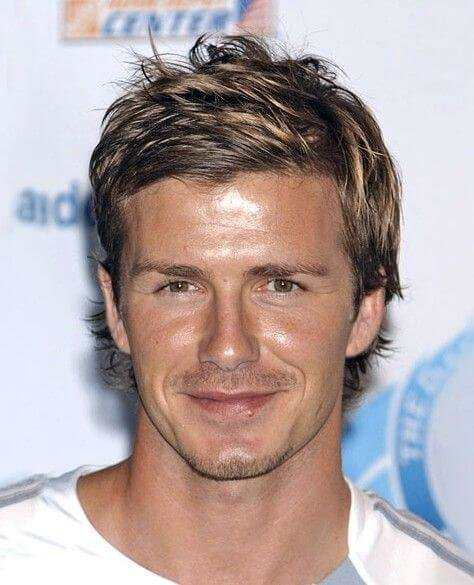 The Best The Many Hairstyles Of David Beckham Pictures