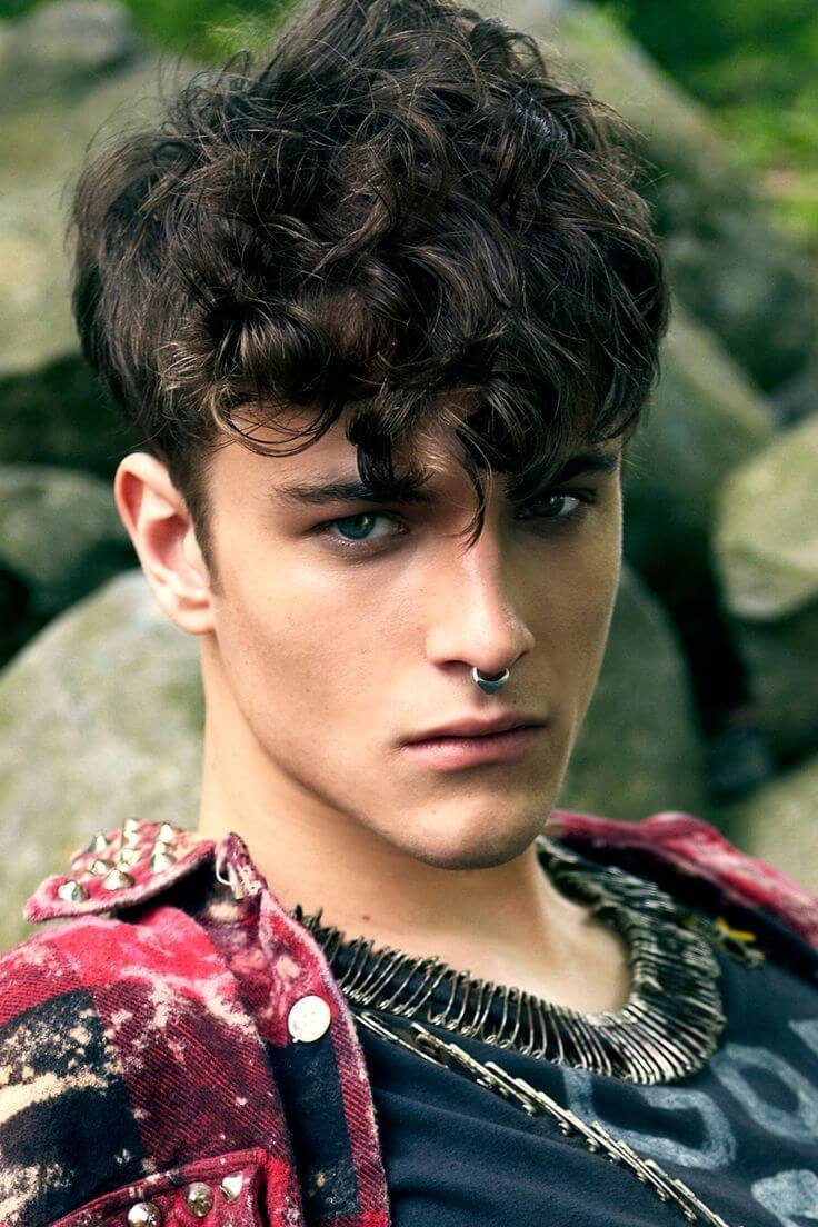 The Best Top 5 Curly Hairstyles For Men Pictures
