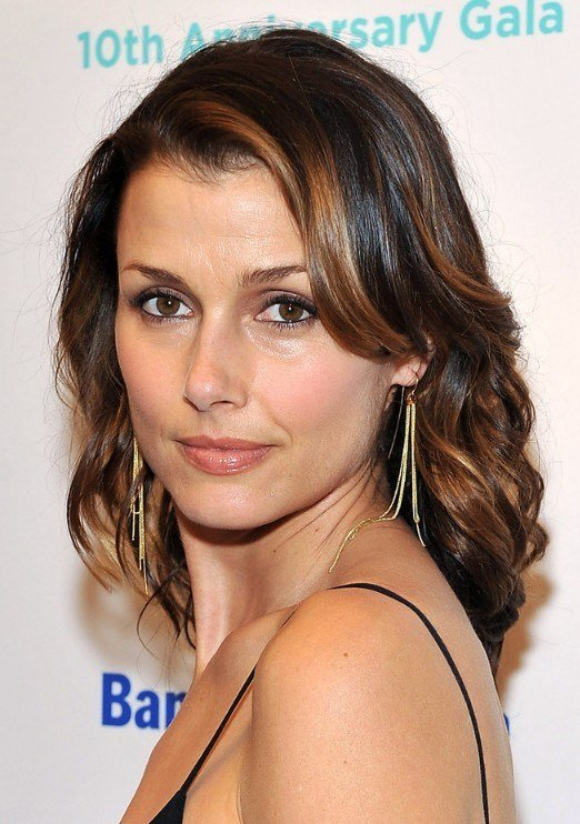 The Best Shoulder Length Wavy Hairstyle With Highlights Pictures
