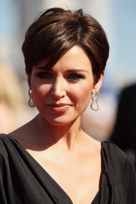 The Best Best Short Haircut For Women Over 40 Dannii Minogue S Chic Pixie Cut Hairstyles Weekly Pictures