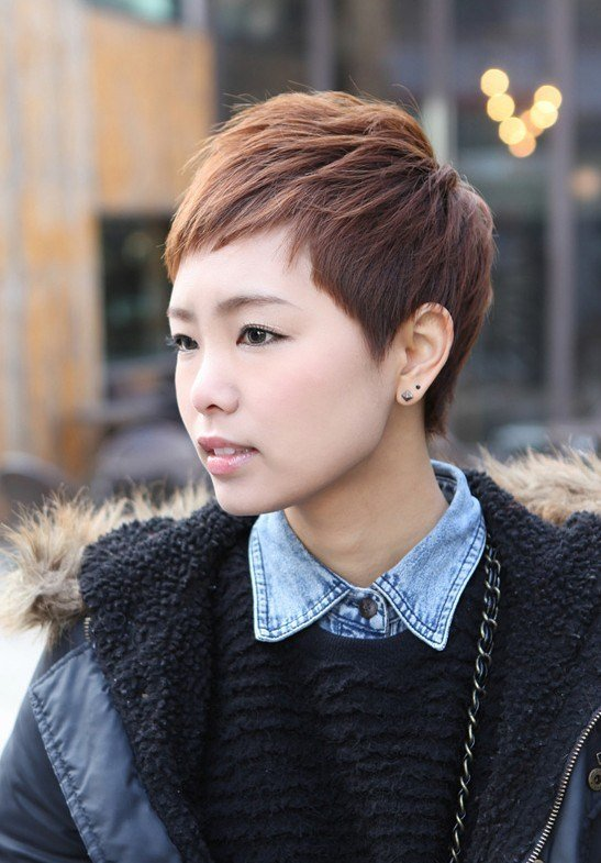 The Best Sharp S*Xy 'Rihanna' Pixie Cut Boyish Asian Haircut For Female Hairstyles Weekly Pictures