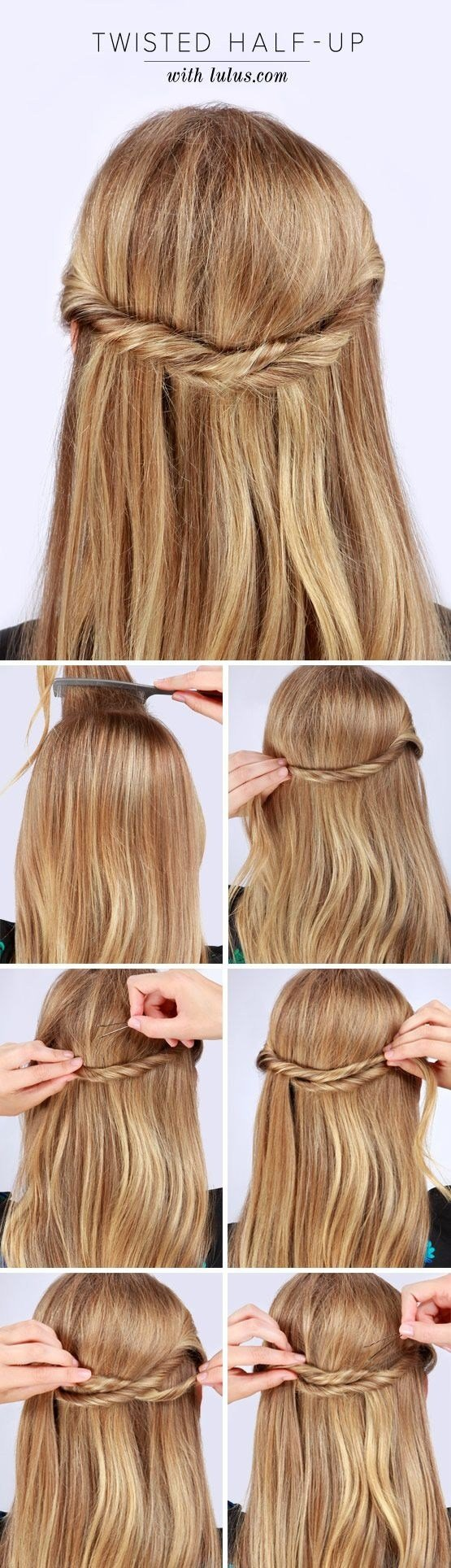 The Best 20 Fabulous Half Up Half Down Hairstyles For 2016 Photo Tutorials Hairstyles Weekly Pictures