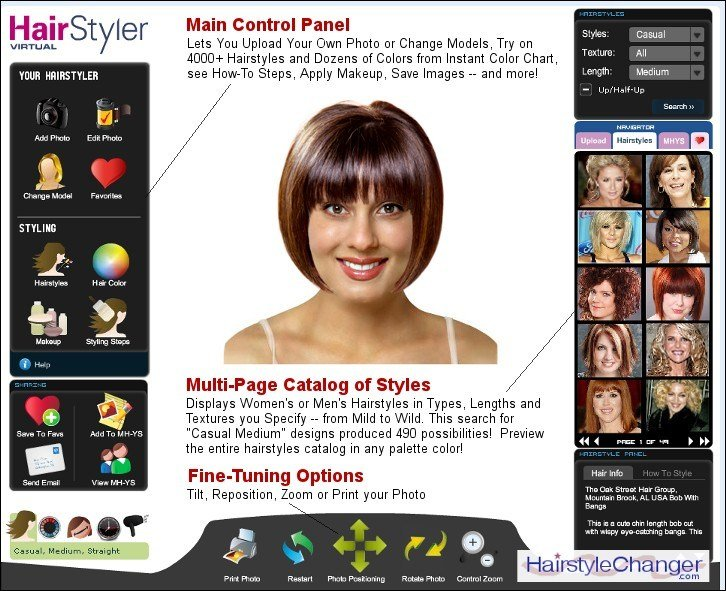 The Best Virtual Hairstyle Changer Online Hair Style Changer Com Pictures