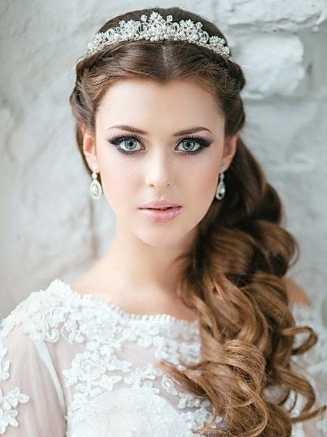 The Best 25 Unique Wedding Hairstyles For Beautiful Brides With Long Hair Pictures