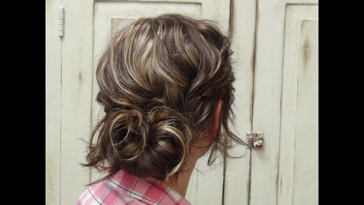 The Best How To Style A Low Messy Bun Hairstyle Youtube Pictures