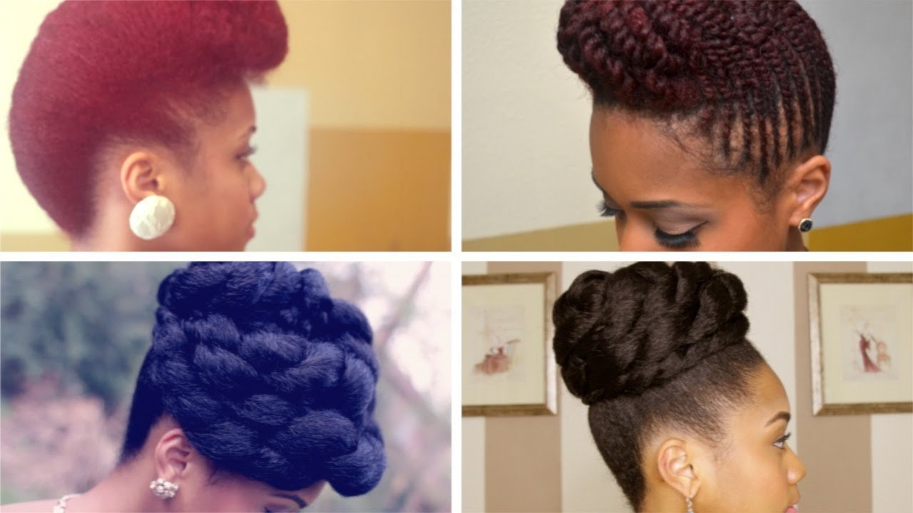 The Best Prom Formal Updo Hairstyles On Natural Hair Youtube Pictures