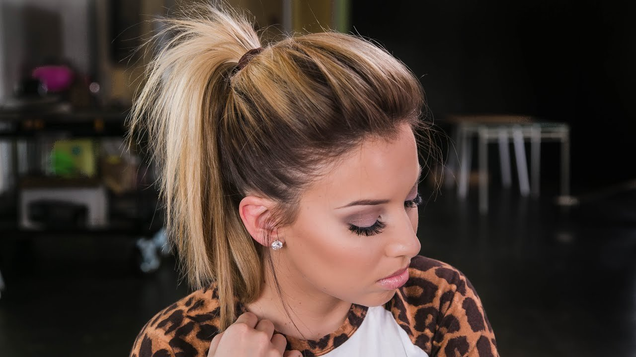 The Best How To The Perfect Ponytail Youtube Pictures