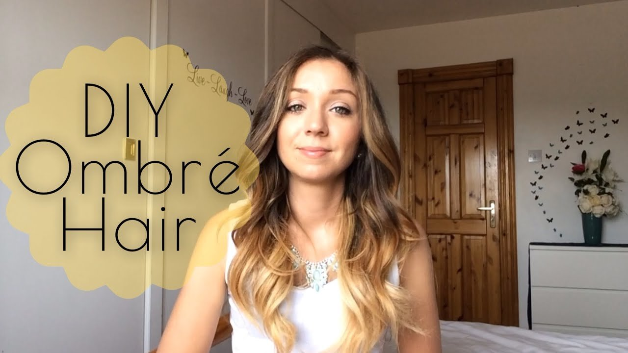 The Best Diy How To Ombré Hair At Home Youtube Pictures