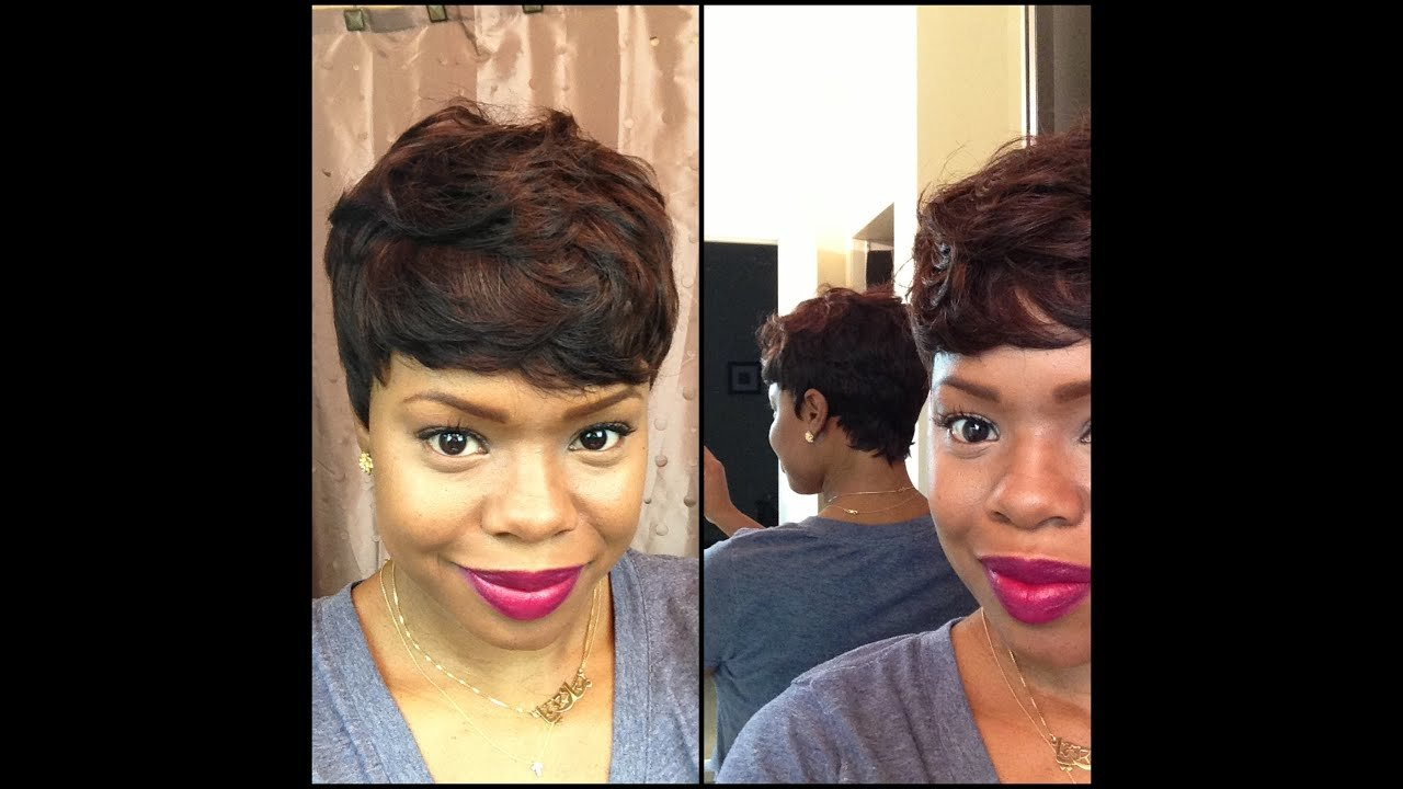 The Best Short And Sassy Custom 27 Piece Wig Youtube Pictures