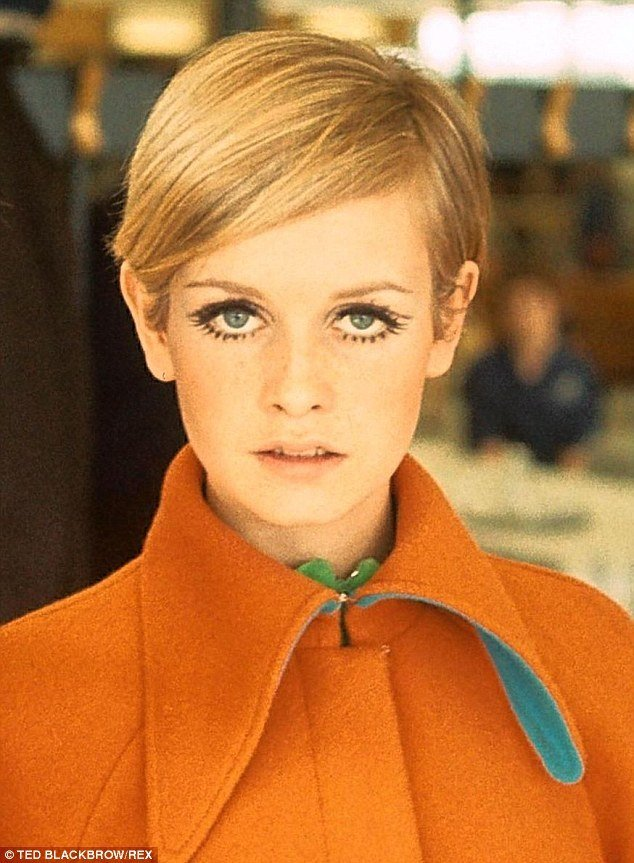 The Best Twiggy S Life In 15 Hairstyles Daily Mail Online Pictures