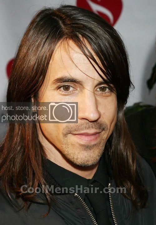 The Best Anthony Kiedis Hairstyles Long Medium Length Hair Pictures