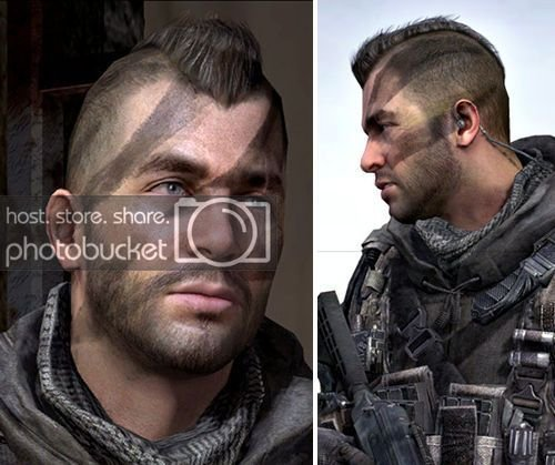"""The Best John """"Soap"""" Mactavish Warhawk Hairstyle From Call Of Duty Pictures"""