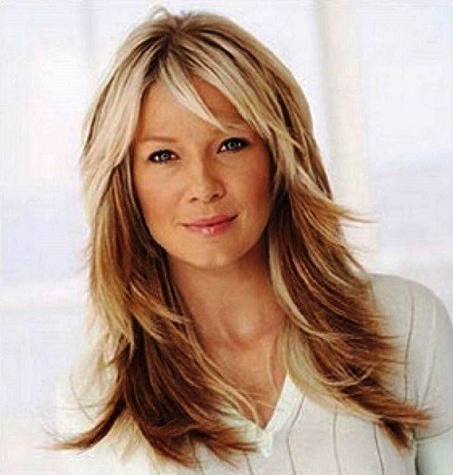 The Best 21 Flattering Long Hairstyles For Women Over 50 To Try Pictures