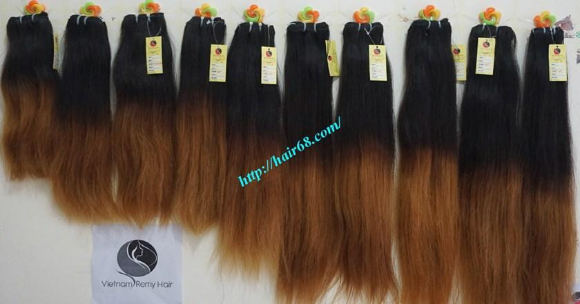 The Best Buy Online Ombre Hair Extensions Weft 24 Inch Straight Pictures
