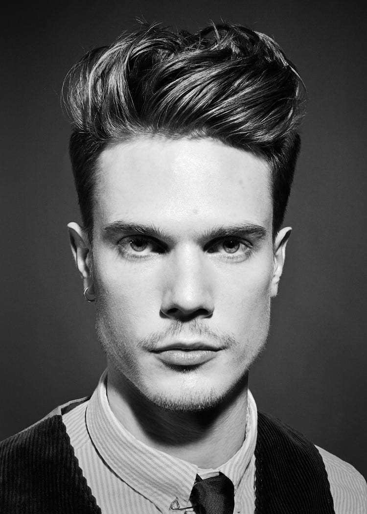 The Best 9 Men S Quiff Hairstyle Variations Pictures