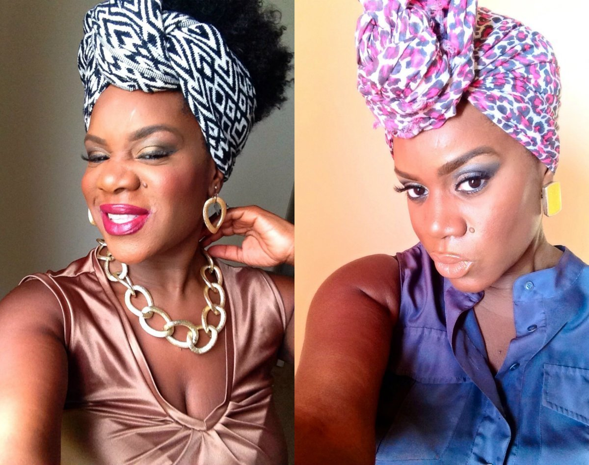 The Best Black Women Hairstyles With Head Wraps To Show Off Hairstyles Haircuts And Hair Colors On Pictures