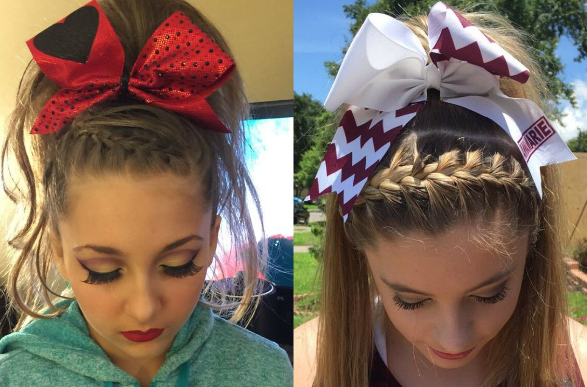 The Best Easy Cheerleading Hairstyles Hairstyles By Unixcode Pictures