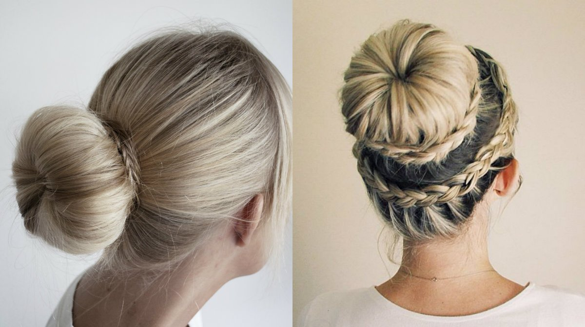 The Best Easy Classy Donut Bun Hairstyles To Create Neat Image Pictures
