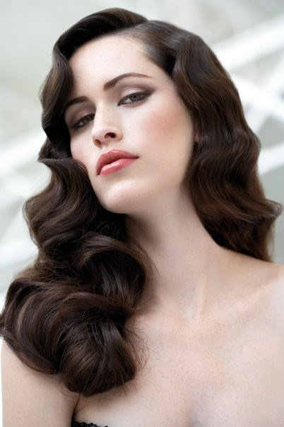 The Best Classic Hollywood Glamour Waves Hair Sublime Com Pictures
