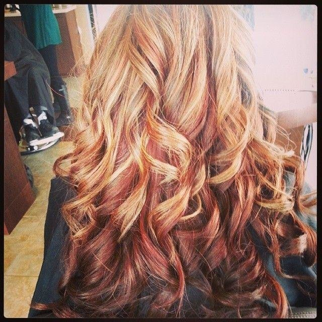 The Best Multi Colored Highlights Hairstyles How To Pictures