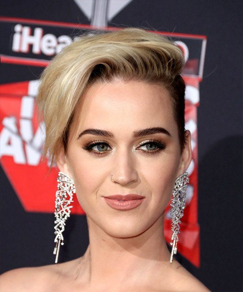 The Best Katy Perry Short Straight Alternative Asymmetrical Pictures