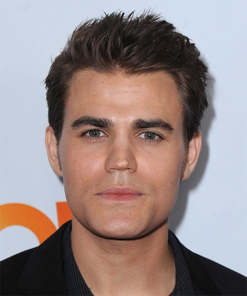 The Best Paul Wesley Short Straight Casual Hairstyle Dark Pictures