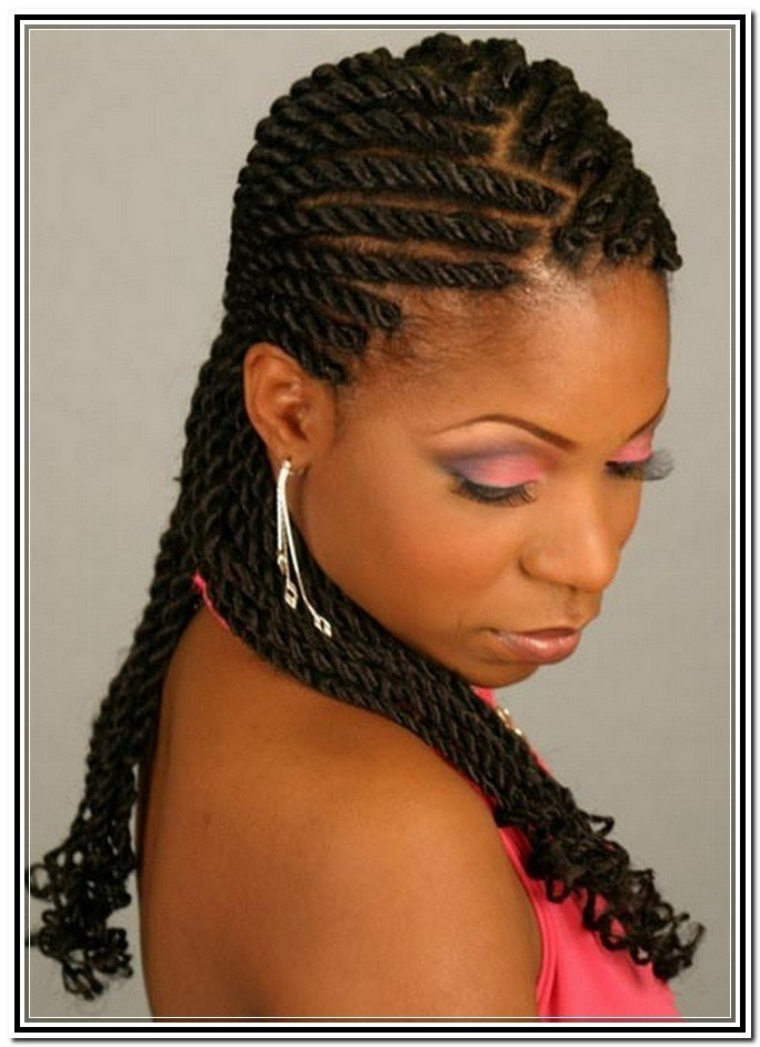 The Best Twist Hairstyles For Natural Hair Twist Braided Styles Pictures