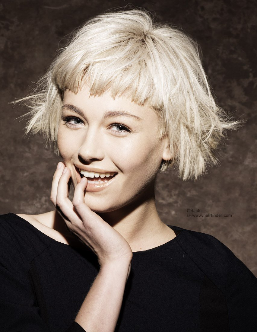 The Best 30 Bangs Hairstyles For Short Hair Pictures