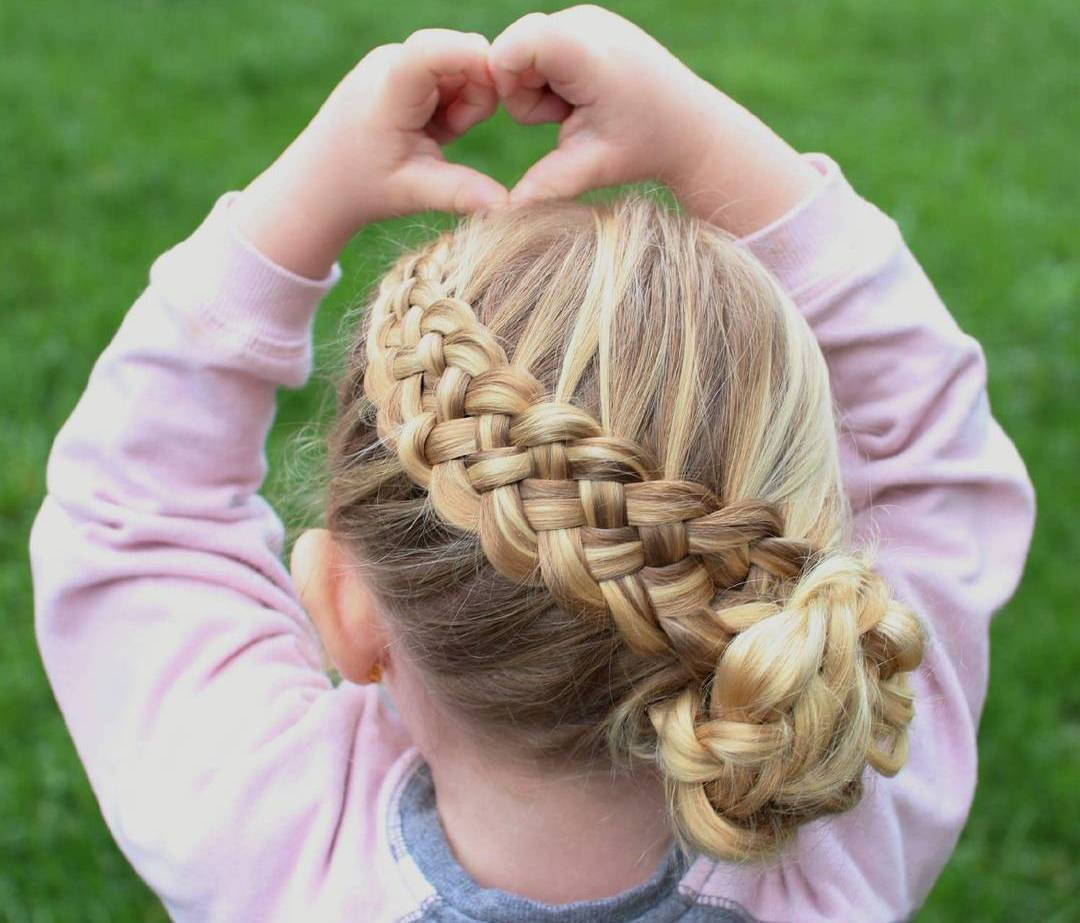 The Best 40 Pretty Fun And Funky Braids Hairstyles For Kids Pictures Original 1024 x 768