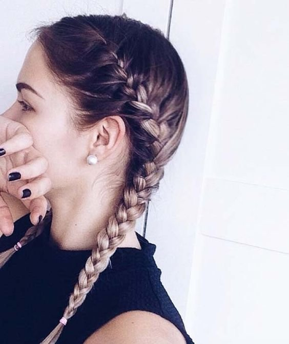 The Best 35 Two French Braids Hairstyles To Double Your Style Pictures